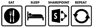 Eat Sleep SharePoint Repeat