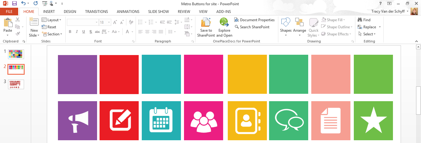 Day 24 – Promoted Links Images for SharePoint Idea 3 – Tracy