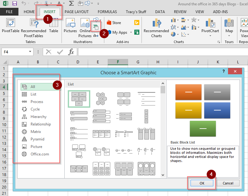 Day 51 Smartart In Microsoft Office Tracy Van Der Schyff