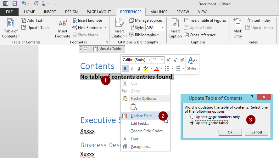 Microsoft 365 Day 43: How to insert a table of contents in