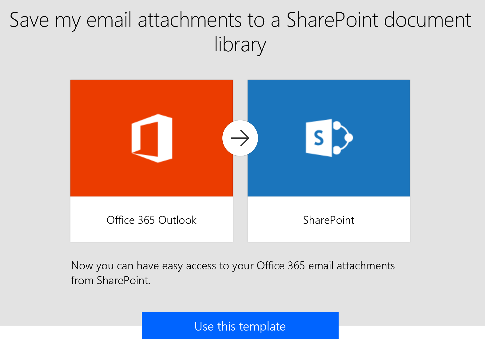 Day 247 Flow Save My Email Attachments To A Sharepoint Document