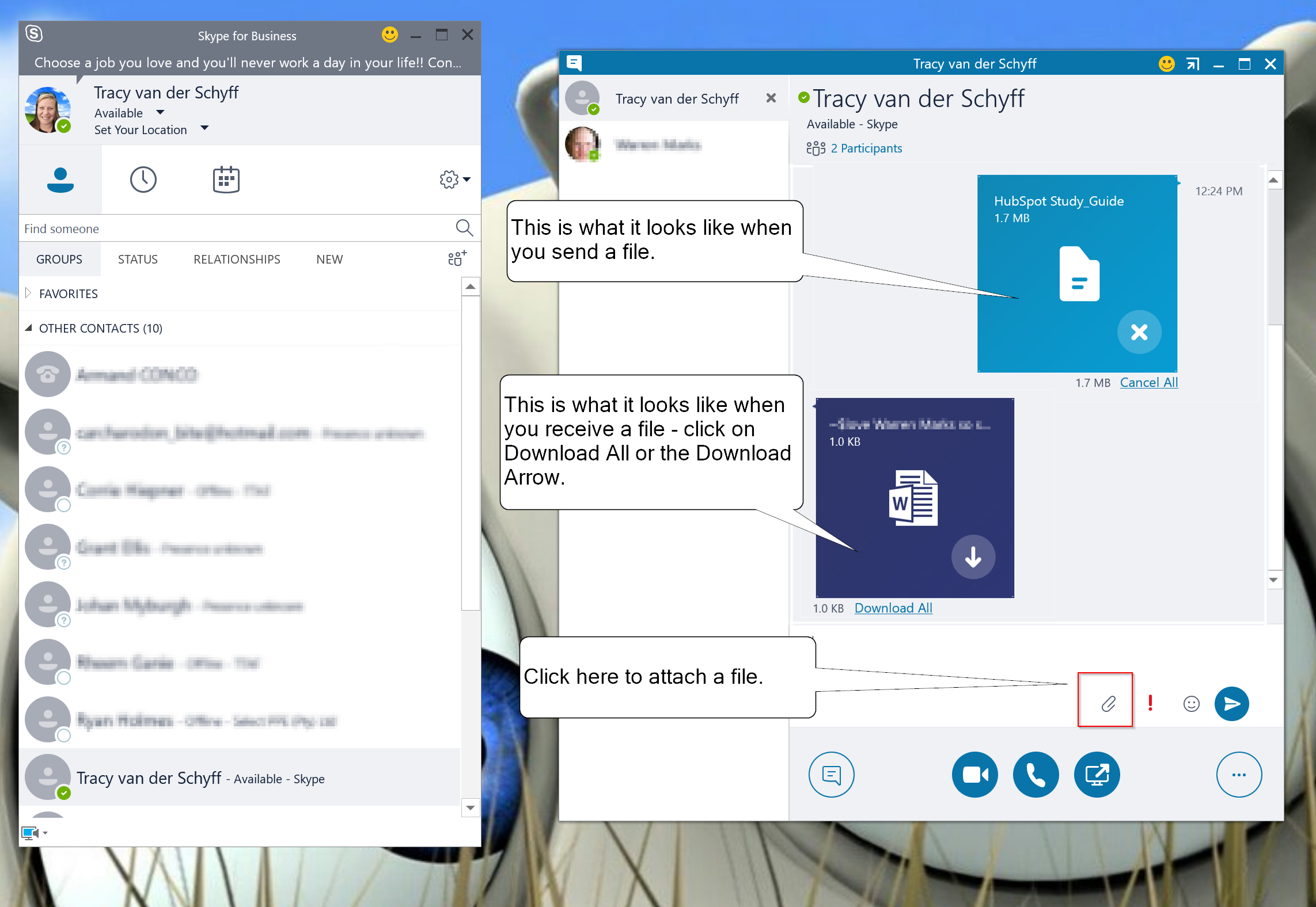 Instant Messaging For Business : Day instant messaging with skype for business