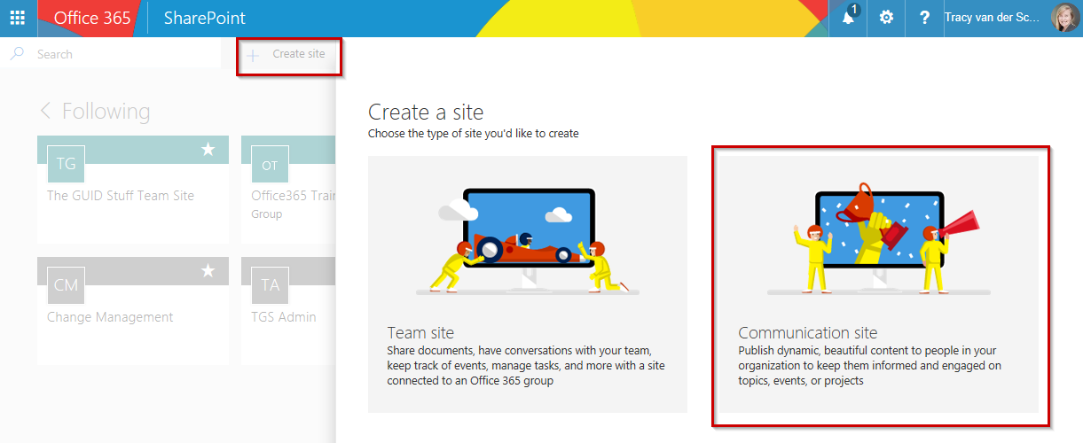 Microsoft365 Day 83: PART 3 – SharePoint Communication Sites using