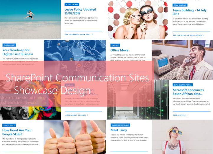 Microsoft365 Day 81: PART 2 – SharePoint Communication Sites using ...