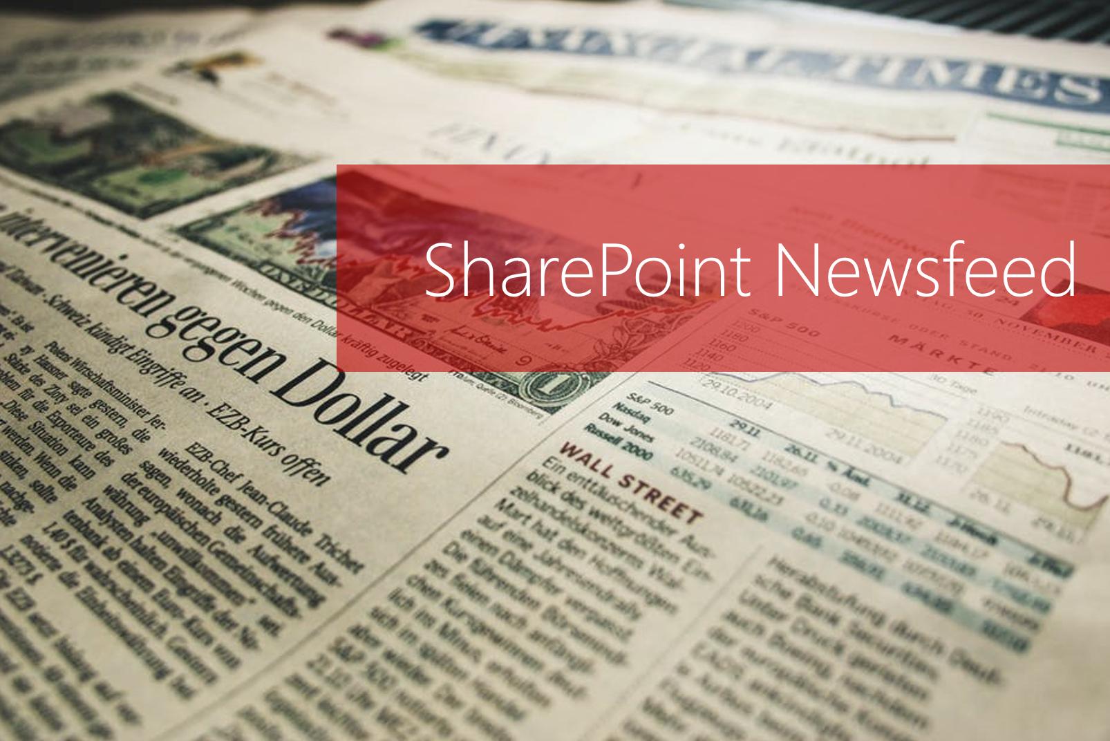 Microsoft 365 Day 19: SharePoint Newsfeed 101 & Resources