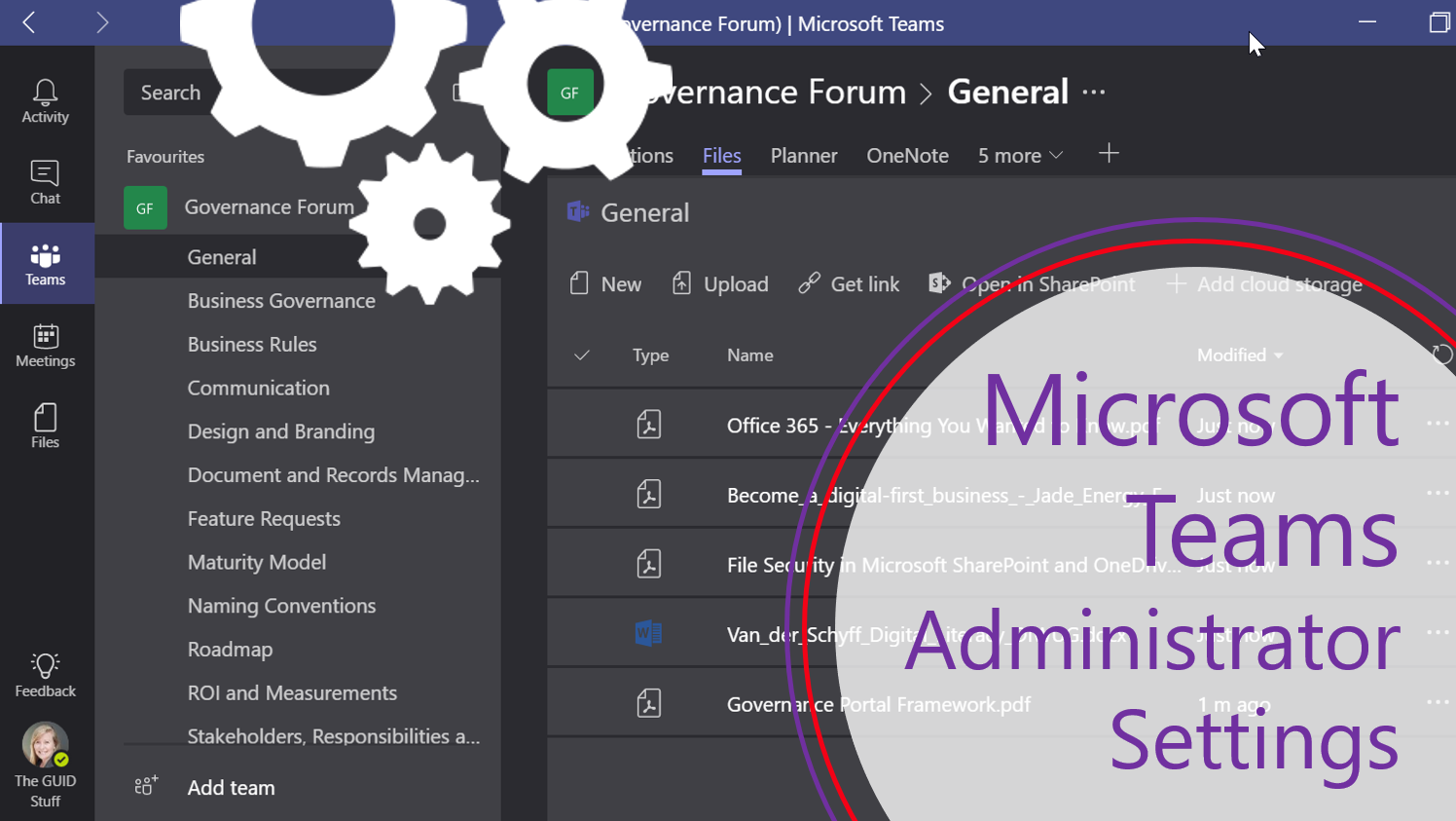 Microsoft 365 Day 32: Administrator Settings for Microsoft Teams