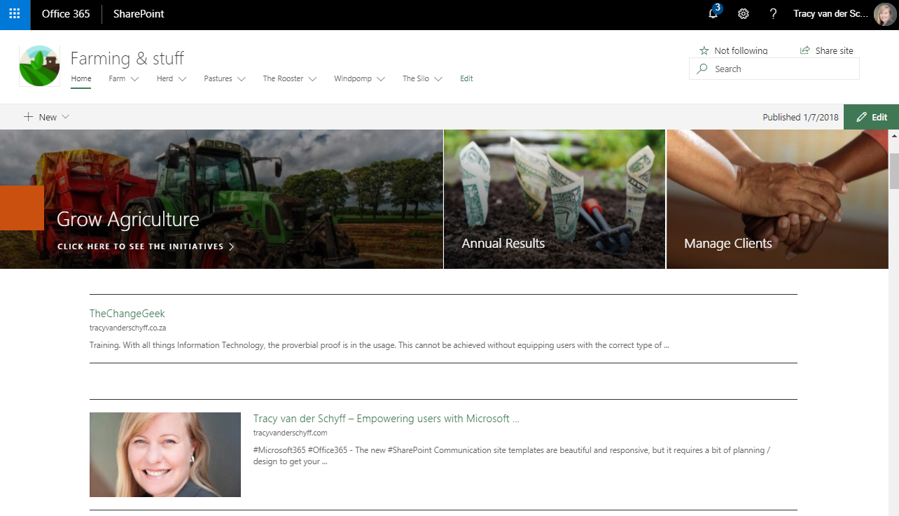 Microsoft365 Day 104 – SharePoint Online Web Parts – Links – Tracy ...