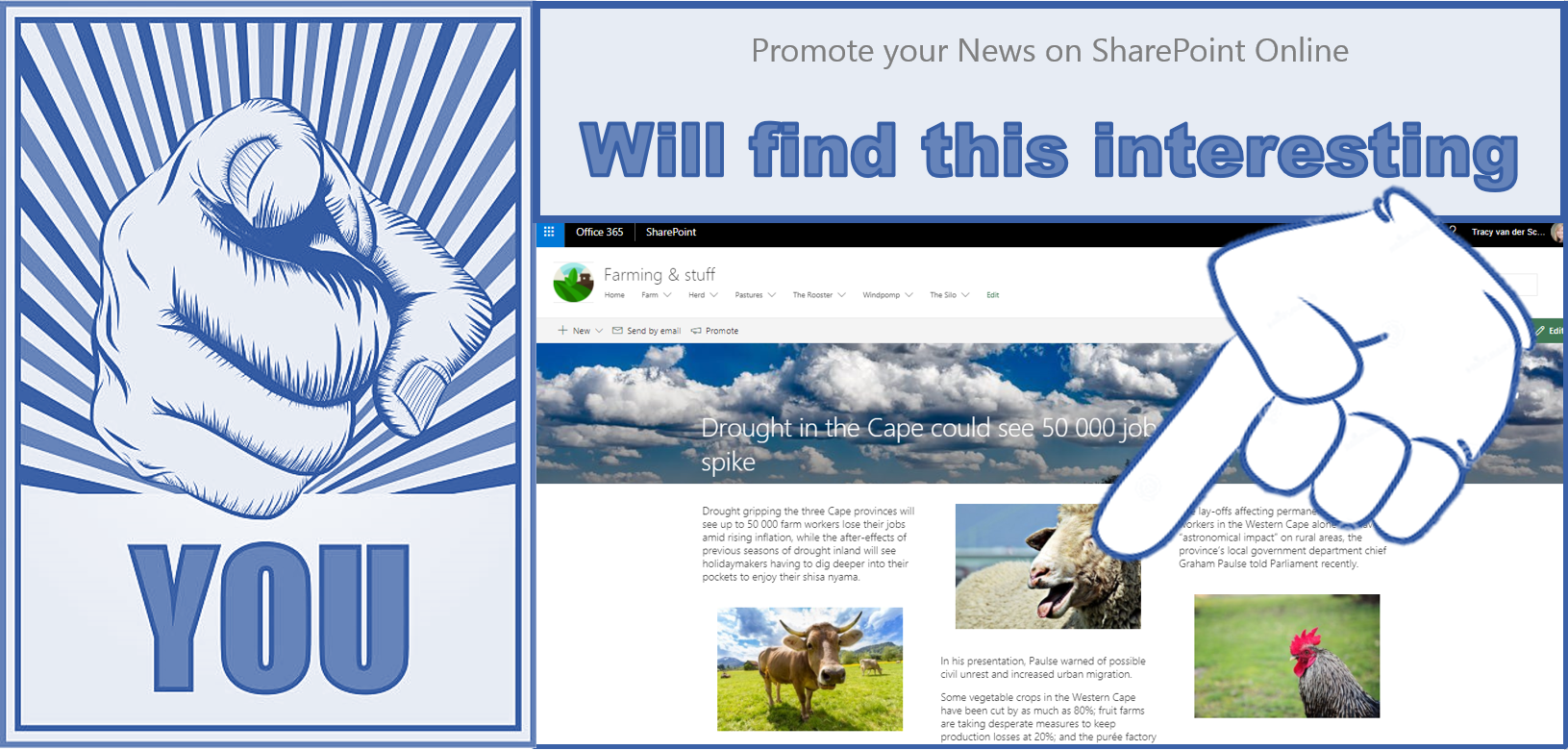 Microsoft365 Day 109 – Promote your News on SharePoint