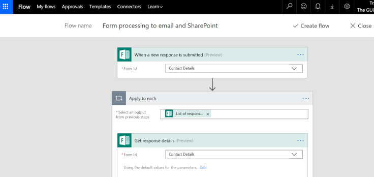 Microsoft365 Day 117 – Capture leads and contacts with Forms, Flow ...