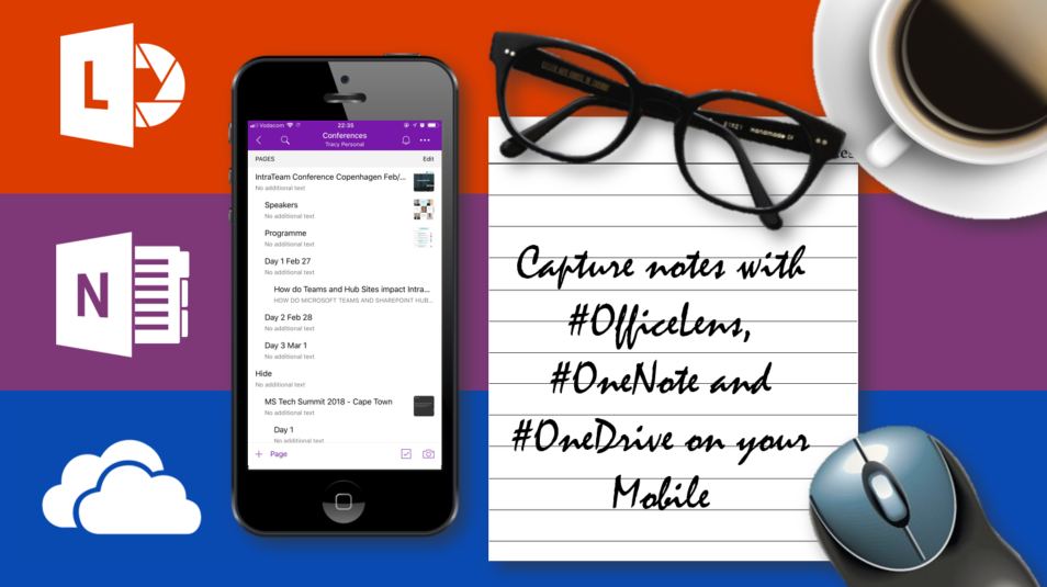 Microsoft365 Day 122: Capture notes using #OfficeLens
