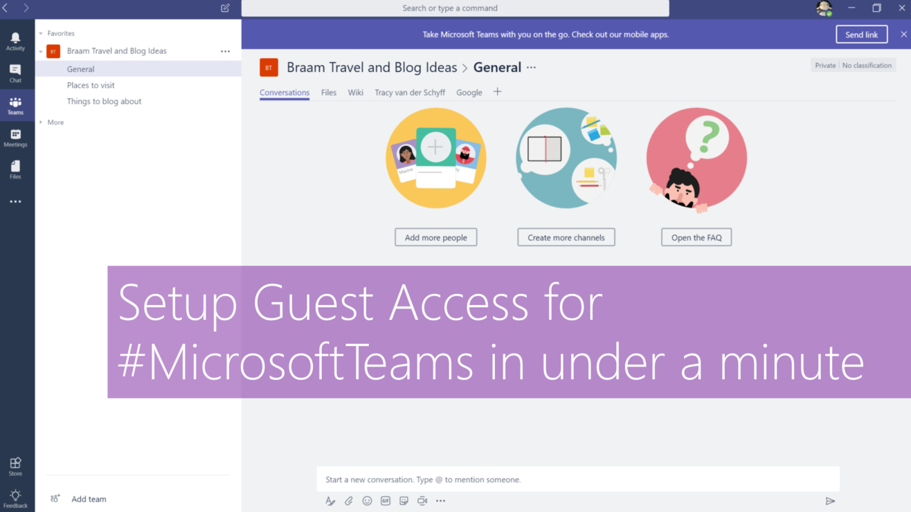 Microsoft365 Day 128: Setup Guest Access for #MicrosoftTeams in