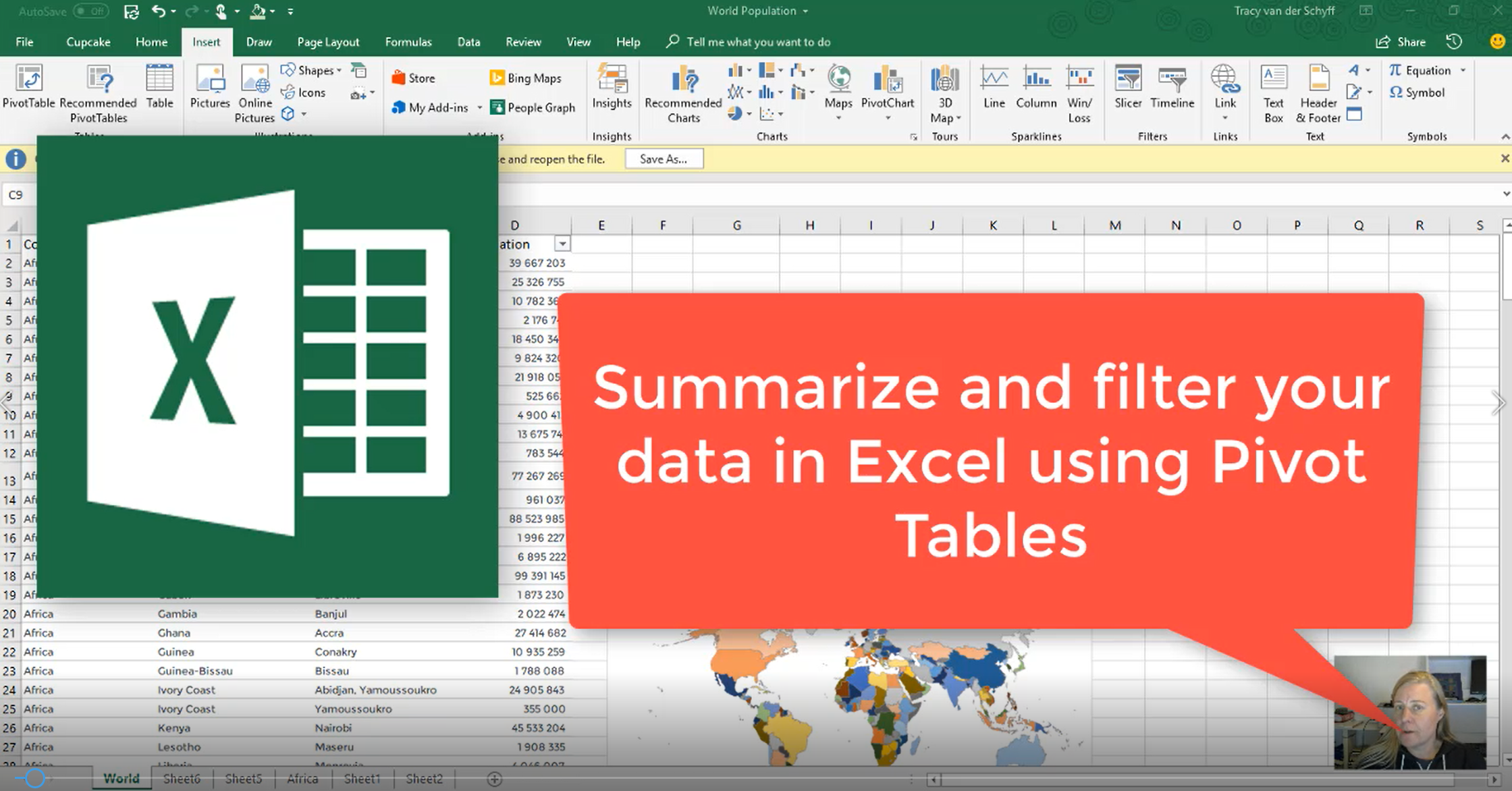 microsoft365 day 252 creating pivot tables in microsoft excel