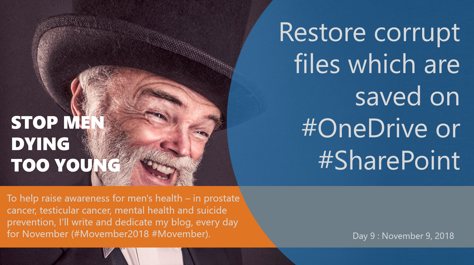Restore corrupt files which are saved on #OneDrive or