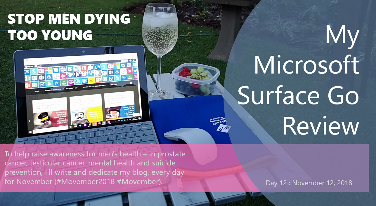 My #Microsoft Surface Go Review – Tracy van der Schyff