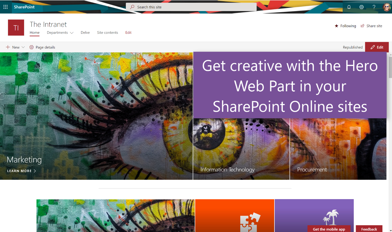 SharePoint – Tracy van der Schyff
