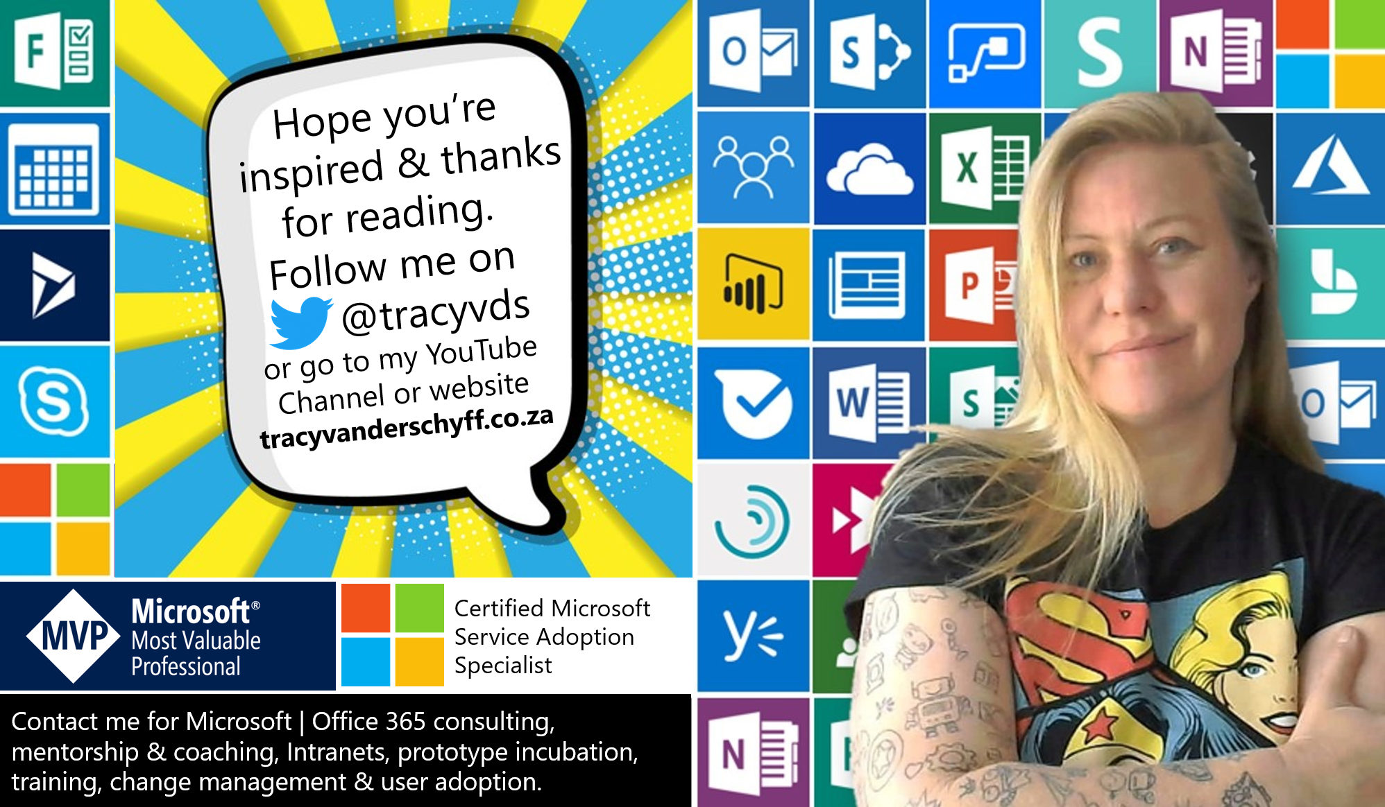 Why users are not adopting Microsoft | Office 365 – Tracy van der Schyff